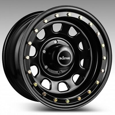 16X8 KING BLACK D LOCKER 16x8 - 16 INCH 6/114.3 20P 4WD TRAILERS-