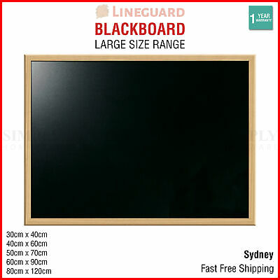 Blackboard Chalkboard Sign Hanging Large Chalk Board Message Wooden Cafe School