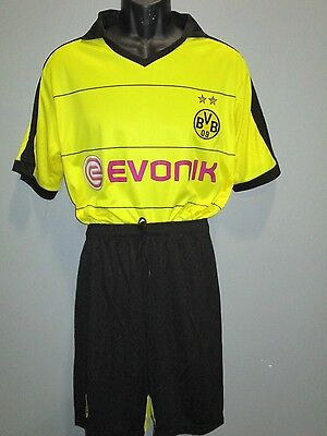 b127875051d soccer uniform borussia dortmund lot 16 dls each jersey short socks number  kids