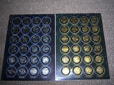 Rare Star Wars Revenge Of The Sith 24 Rare Gold & 24 Silver Coloured Coins