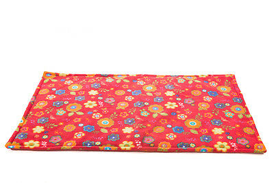WATERPROOF Guinea Pig, and small animal fleece cage liner size 80x44cm