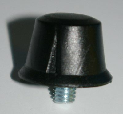Replacement Flanged screw in cleats .5 inch[1/2''] Black Pk of 7 /Studs/Football