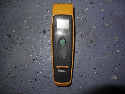 #234c Tested+Working Fluke 61 Infrared Laser Thermometer *READ*