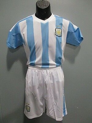 94a105f1a21 soccer uniform Argentina national team lot 16 dls each jersey short socks  number
