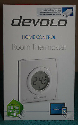 Devolo Home Control Room Thermostat 09507 Home Automation via iOS/Android, Smart