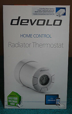 Devolo Home Control Radiator Thermostat 09502 Home Automation via iOS/Android