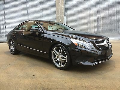 2014 Mercedes-Benz E-Class  2014 MERCEDES-BENZ E350 COUPE FULLY LOADED P1 PKG AMG PKG OVER $11K IN OPTIONS