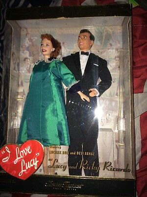 Lucy & Ricky 50th Anniversary Giftset 2000 Barbie Doll (NEW / Original Box)