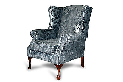 Queen Anne High Back Wing Chair RRP €595.00