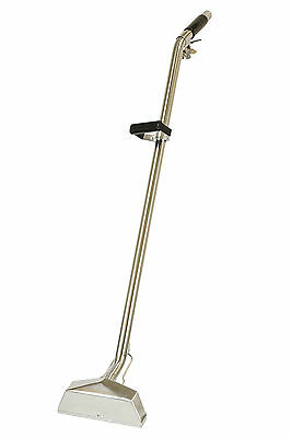 "Carpet Cleaning Wand, 1.5"" 4 Jet W/SS Valve 12"" wide head 67-007"