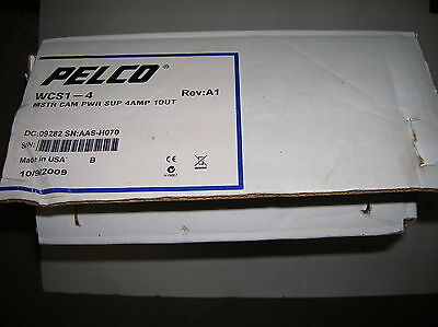 NEW Pelco WCS1-4 Master Camera Power Supply