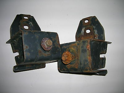 Geo Metro Suzuki Swift 95 01 2 Door 4 Door Front Bumper Brackets Left And Right