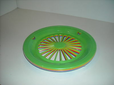 Set of 8 Plastic Paper Plate Holders New