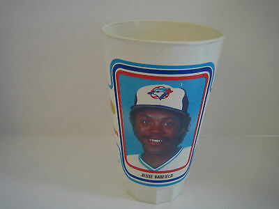 1985 Toronto Blue Jays Jesse Barfield Plastic Cup***jays For Kids***