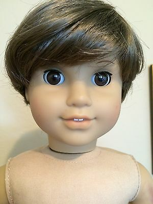 "Boy Doll Wig 10-11"" - Style I - Light Brown"