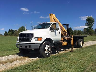2001 F750 W/ IMT Knuckle Boom Crane 13000lbs MaxCap 20ft Out 30ft Up