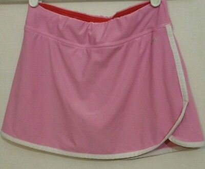 Champion Girl's Pink Athletic Skort Built-in Shorts Size medium(#253)