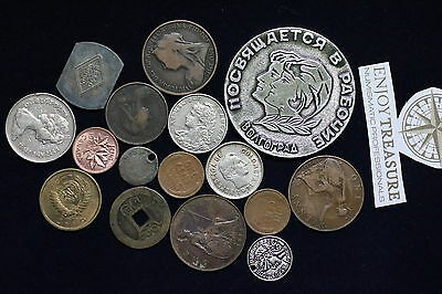 World Coins & Medals Useful Lot A60 Za50