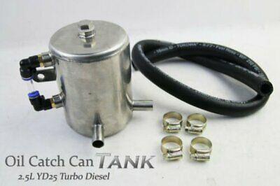Oil Catch Can Tank New Fits NISSAN Navara D40 Pathfinder 2.5L YD25 Turbo Diesel