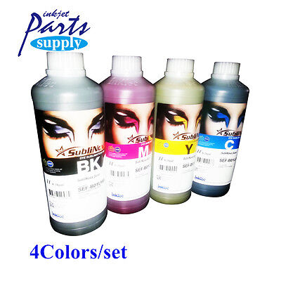 4colors 1000ml Inktec Sublinova Sure Sublimation Ink for Roland/Mimaki/Mutoh