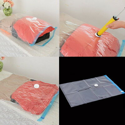 Storage Bag Large Space Saver Saving Storage Vacuum Seal Compressed Organizer #8