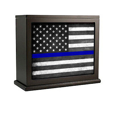Thin Blue Line Flag For Law Enforcement Accent Light Night Light Box