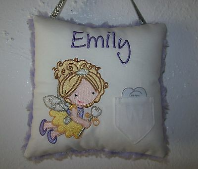 Tooth Fairy Pillow - Personalized Embroidery