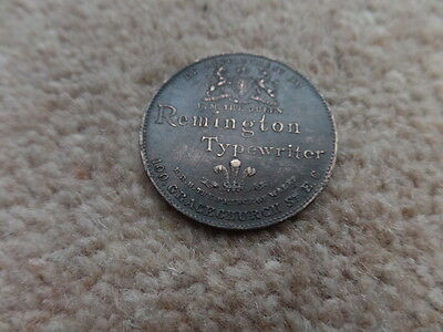 Old BRITISH ROYAL FAMILY BRONZE MEDAL,COIN 1896s