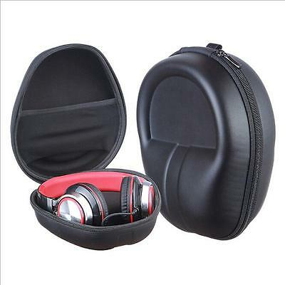 Carrying Hard Case Bag Storage Box Pouch for Headphone Earphone Headset Black Z