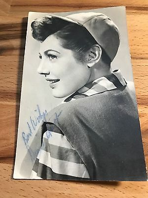 Diane Hart signed black and white photograph RARE!