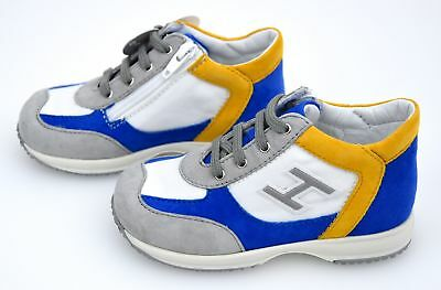 Hogan Junior Interactive Bambino Scarpa Sneaker Casual Art.  Hxt0920I4608Fj2As9 54c95894a7eb