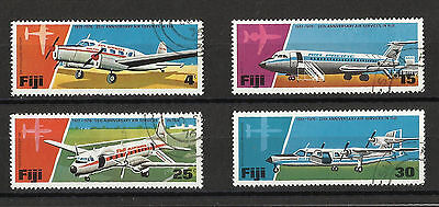 Aviation set - Fiji - 1976 - 25th Anniv of Air Services - Good used