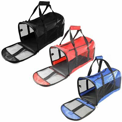 Dog Cat Pet Puppy Fabric Portable Carrier Crate Kennel Bag Cage Folding Travel