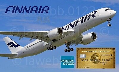 Amex American Express Gold Card Referral Code: Collect 28k Finnair Plus Miles