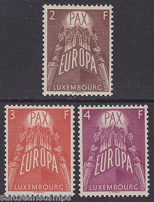 LUXEMBOURG - 1957 Europa (3v) - UM / MNH