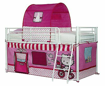 Hello Kitty Sleeper Bed Tent Girls Sleep Children Play Doll Toy House Game