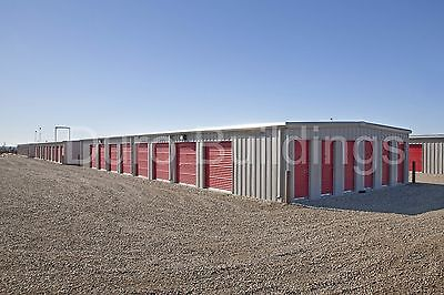 DURO Steel Mini Self Storage Structures 45x180x8.5 Metal Prefab Buildings DiRECT