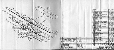 Antonov An-2 AN2 Biplane Archive Manuals Set technical HISTORIC PERIOD DETAILS