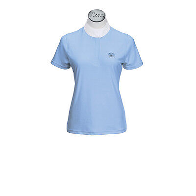 Pikeur Ladies Competition Shirt - short sleeve In Blue (408)