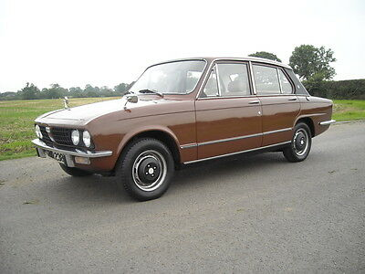 Triumph Dolomite 1500 Hl 1977 With 35,000 Miles 4 Speed Overdrive