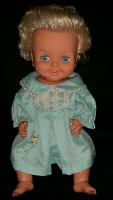 ☆ VINTAGE PALITOY DOLL 19A ☆ TINY TEARS ☆ MADE IN ENGLAND ☆ 1970's ☆ ORIGINAL