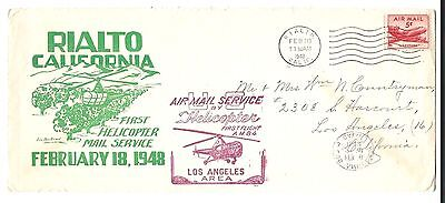 mjstampshobby 1948 USA First Helicopter Mail Service (Lot 534)
