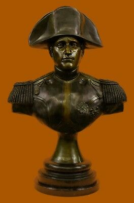 Sculpture Napoleon French Style Bronze Signed Collector Edition FigurineUG