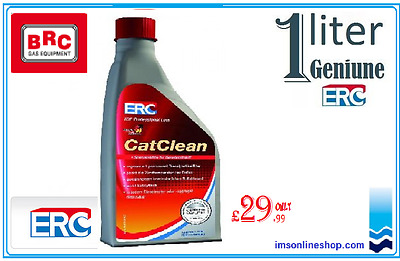 Genuine ERC 1L CATCLEAN cleaner for diesel particle filter DPF Audi VW Opel BMW