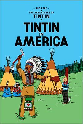 Tintin in America (The Adventures of Tintin) New Hardcover Book Herge