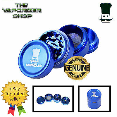 Blue Head Chef Top Quality Alloy Alluminium Magnetic Herbal Grinder 30mm 4 Piece