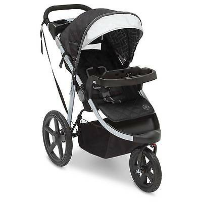 J is for Jeep Adventure All-Terrain Jogger - Charcoal Tracks