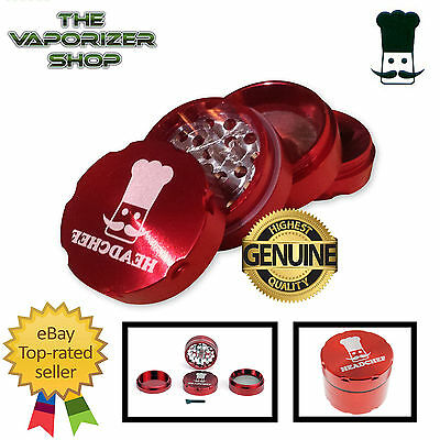 Red Head Chef Top Quality Alloy Alluminium Magnetic Herbal Grinder 40mm 4 Pieces