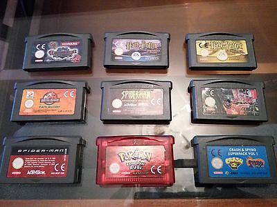 Juegos Game Boy Advance Ds Gba Ds Nintendo Harry Potter Sonic Pokemon Rubi Ruby