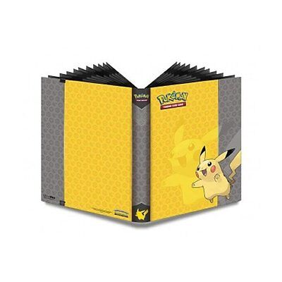 Ultra Pro Pokemon Pikachu A4 Portfolio/ Folder/ Album/ Binder - Holds 360 Cards